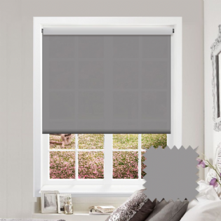 Light Grey Roller Blind - Astral Tropez